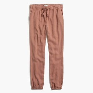 MADEWELL Shorewalk Pants Desert Rose Pink - M